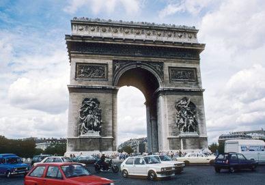 Paris - Triumphbogen (Frankreich)