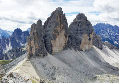 Die drei Zinnen (Italien)