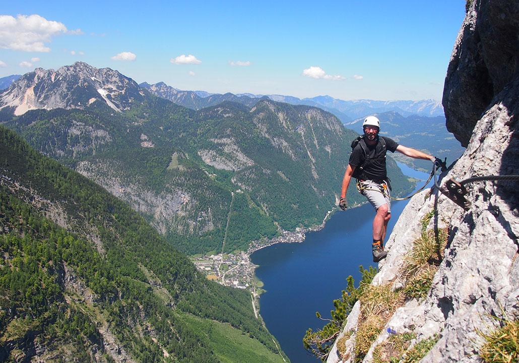 Klettersteig Seewand : Seewand klettersteig mysummit