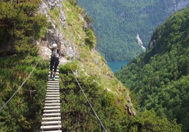 Grünsteig Klettersteig, Grünstein (Deutschland)