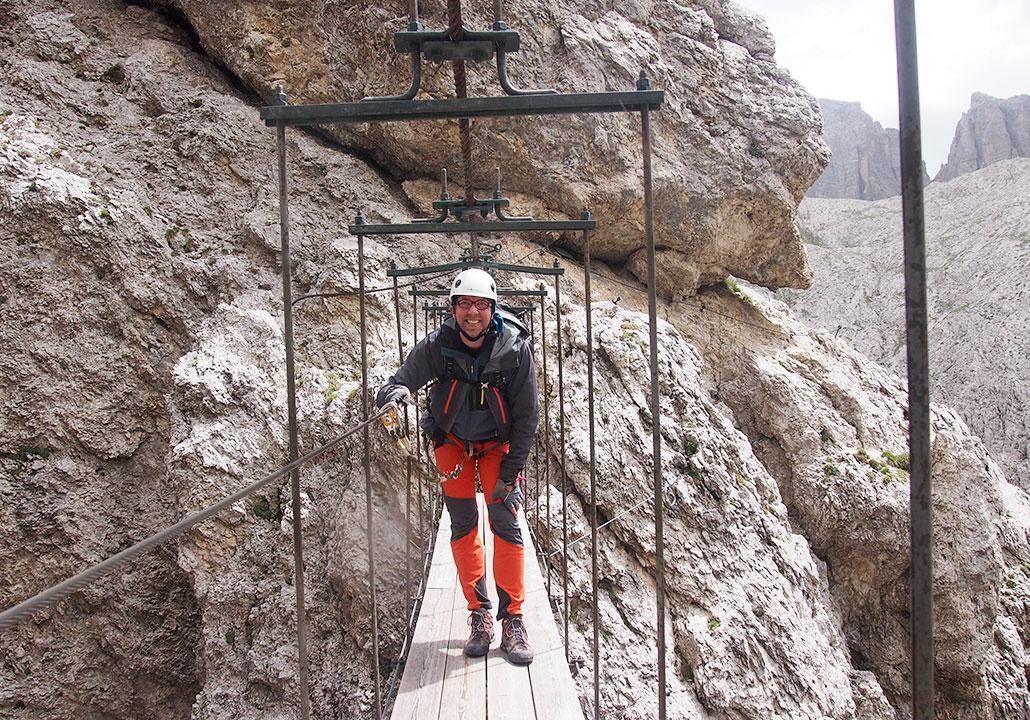 Klettersteig Pisciadu : Pisciadù klettersteig mysummit