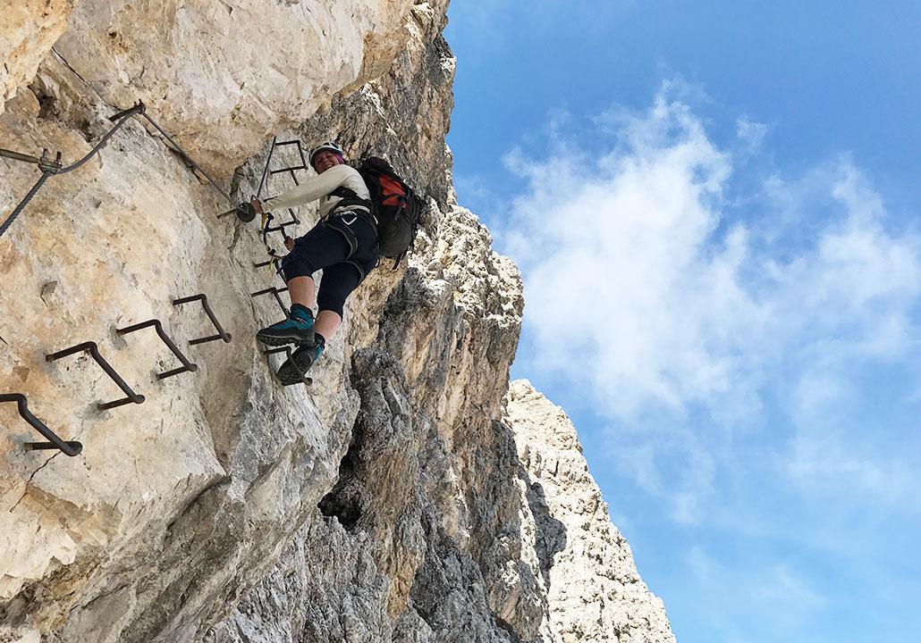 Klettersteig Plattkofel : Oskar schuster klettersteig mysummit