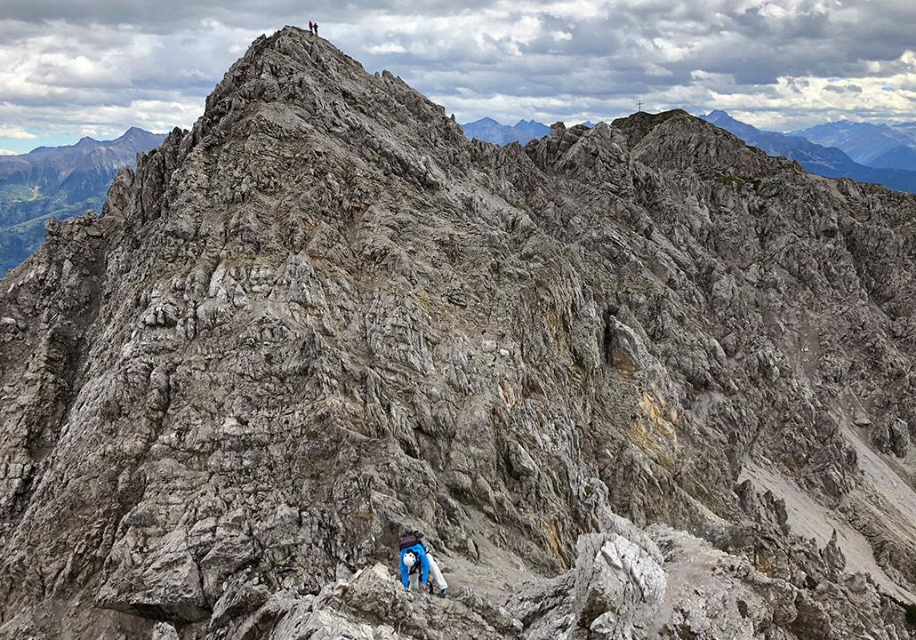 Klettersteig Wankspitze : Wank klettersteig mysummit