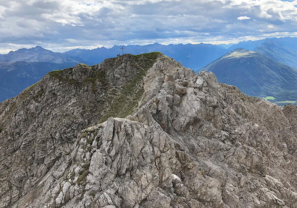 Klettersteig Wankspitze : Wankspitze mysummit