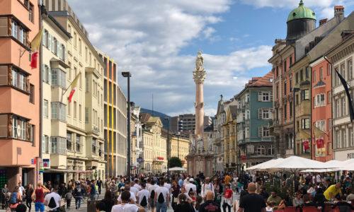 Innsbruck - Maria-Theresien-Straße (Österreich)