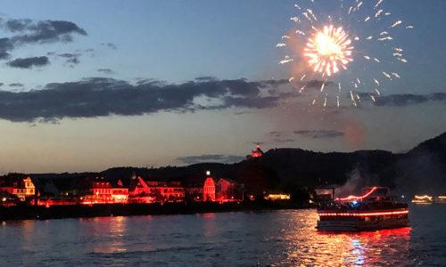 Koblenz - Rhein in Flammen (Deutschland)