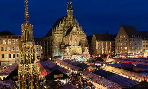 Nürnberg - Christkindlmarkt (Deutschland)