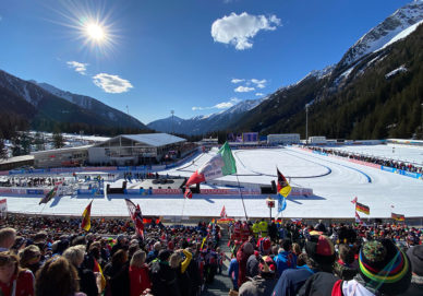 Antholz - Biathlon-WM (Italien)