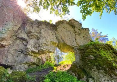 Großes Felsentor am Holzberg (Deutcshland)