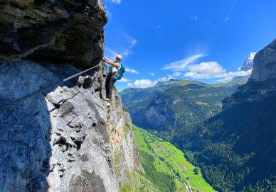 Mürren-Gimmelwald-Klettersteig (Schweiz)