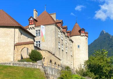 Gruyère - Schloss Greyerz (Schweiz)