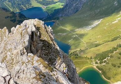 Lachenspitze-Nordwand Klettersteig (Österreich)