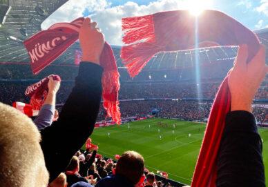 Bayern München gegen Hoffenheim (Deutschland)