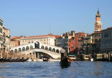 Venedig - Gondelfahrt (Italien)
