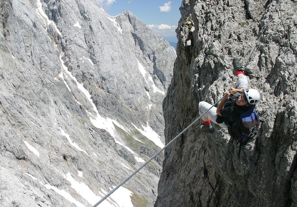 Klettersteig Plattkofel : Klettersteige mysummit