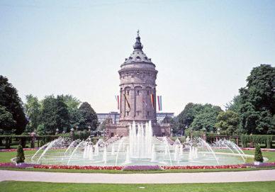 Mannheim - Wasserturm (Deutschland)
