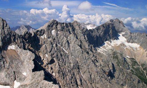 Zugspitze mit Jubiläumsgrat